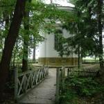 Kaplica w Romanowie. Widok od strony południowej.