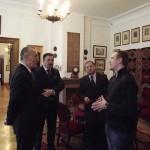Wizyta Podsekretarza Stanu Macieja Klimczaka w romanowskim muzeum