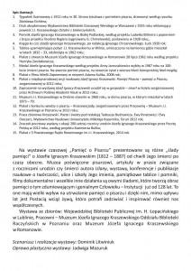 Muzeum w Romanowie - WKLADKA 1 - 2